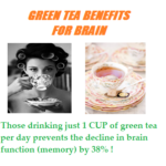 Green Tea Benefits For Brain