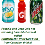 Fire Retardant Chemical In Mountain Dew