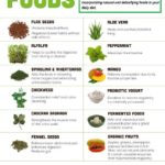 Detoxifying and Colon Cleansing Foods