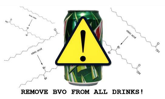 remove BVO from mountain dew