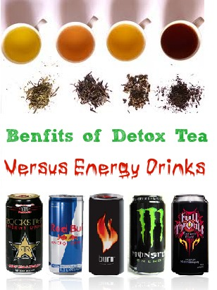 detox tea verus energy drinks