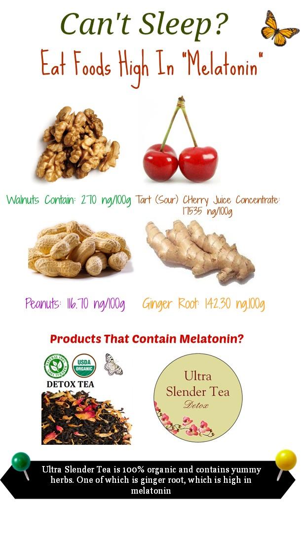 Top  Foods High In Melatonin
